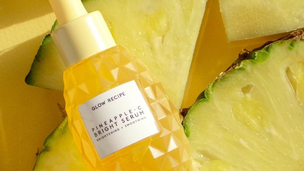 Glow Recipe S New Pineapple C Bright Serum Looks Just Like Its