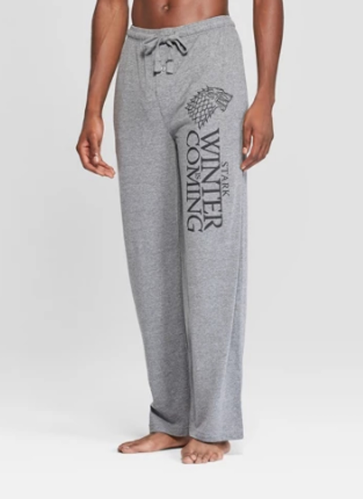 Men's Game of Thrones Stark Novelty Pajama Pants