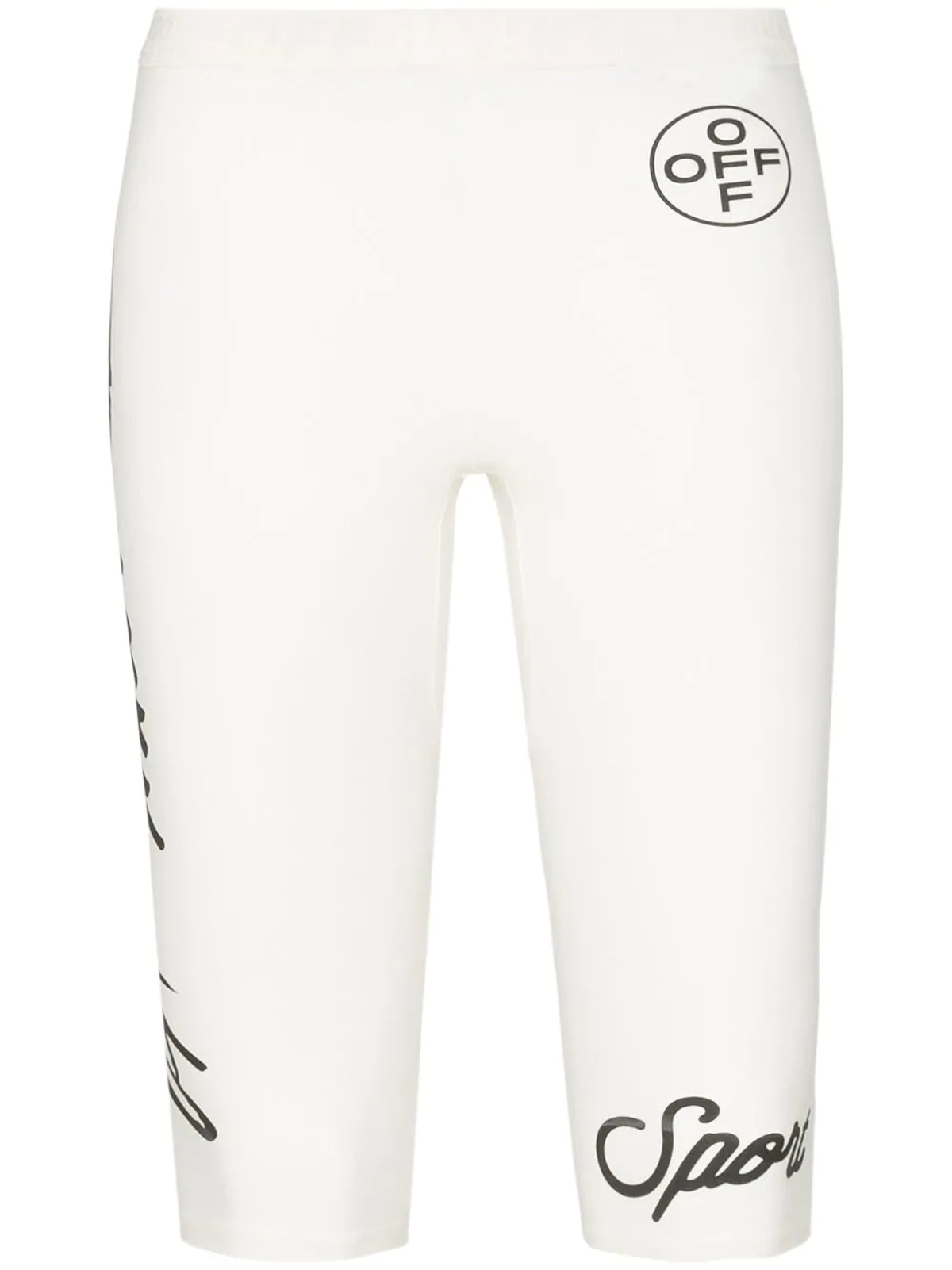 Graphic Print Jogging Shorts
