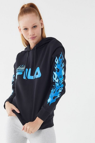 FILA X Disney Villains UO Exclusive Hades Hoodie Sweatshirt
