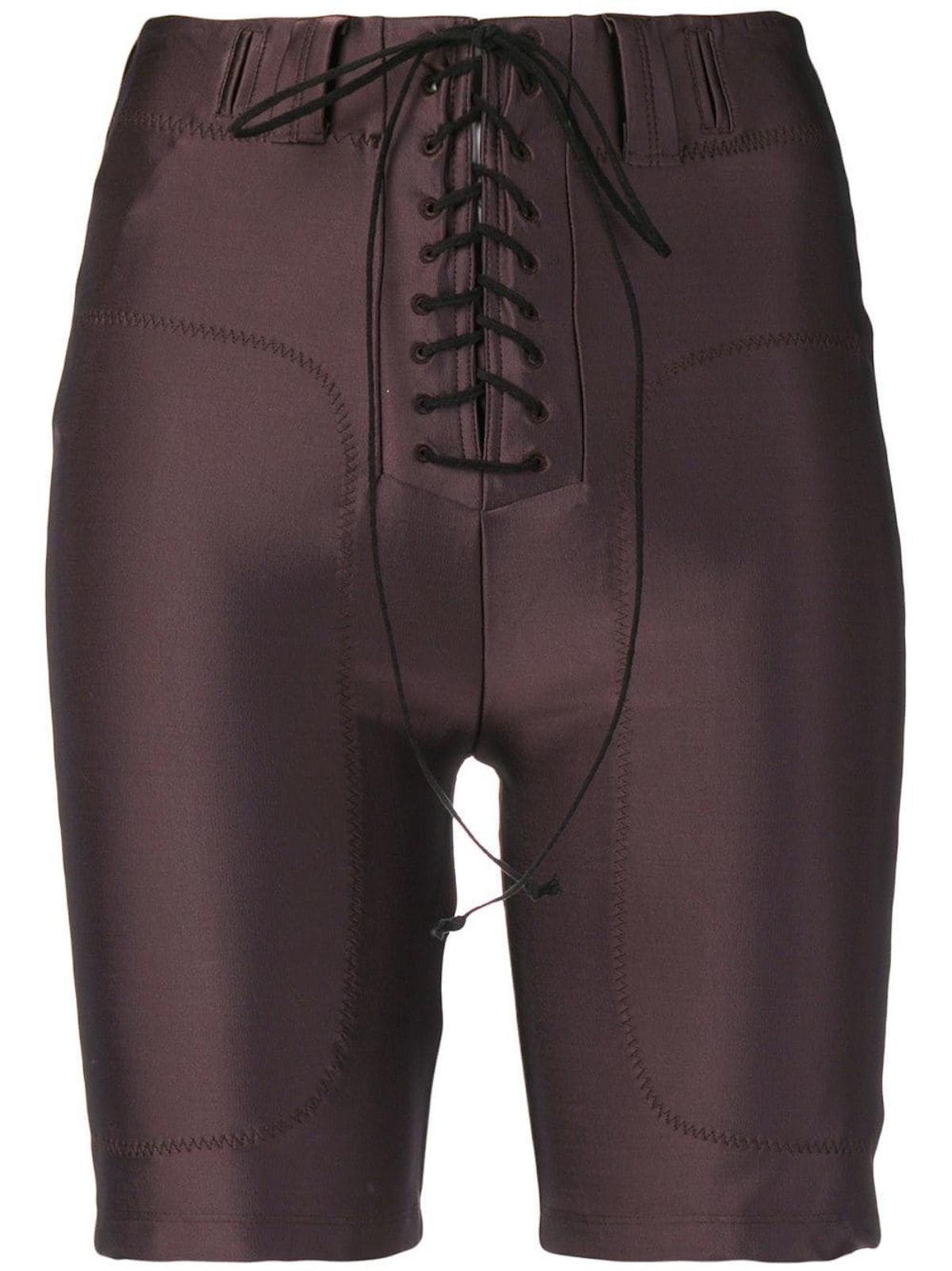 Lace-Up Cycling Shorts