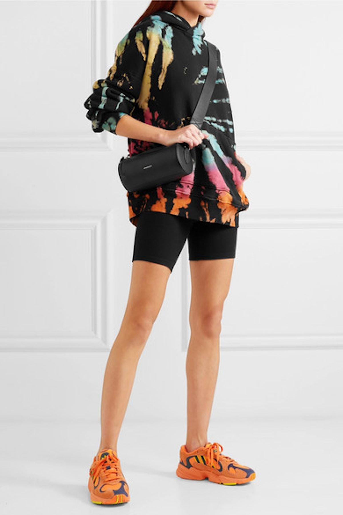 Oversized Tie-Dye Cotton-Jersey Hoodie