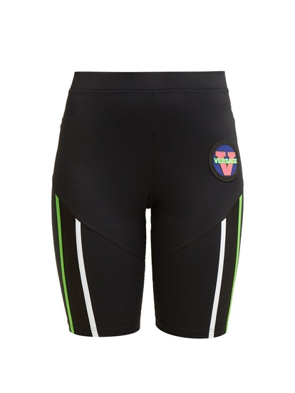 Logo Patch Technical Cycling Shorts