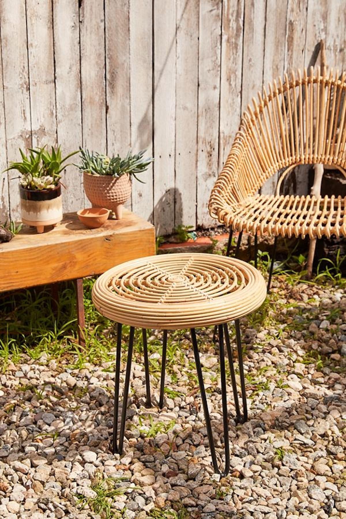 Gracia Rattan Outdoor Side Table
