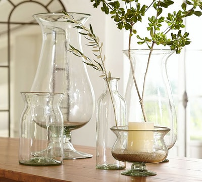 Recycled Glass Vase Collection
