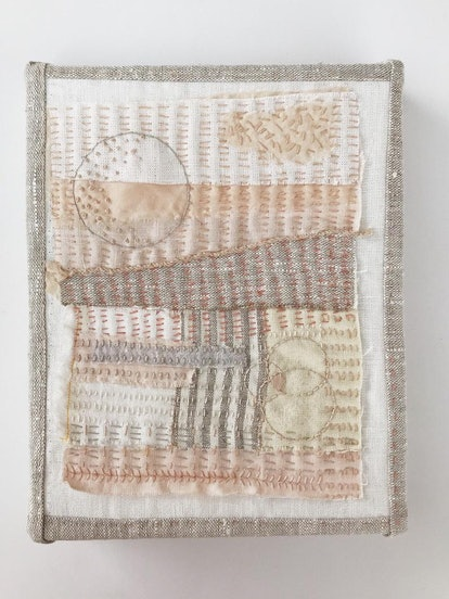 'Rhythm and Light' Textile Art