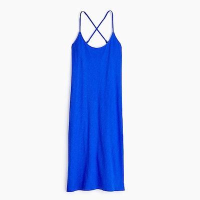Strappy Knit Midi Dress