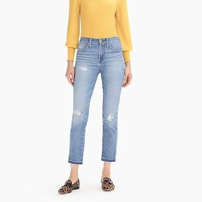 Vintage Straight Eco Jean In Medium Wash
