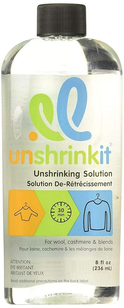 Unshrinkit Clothing Solution