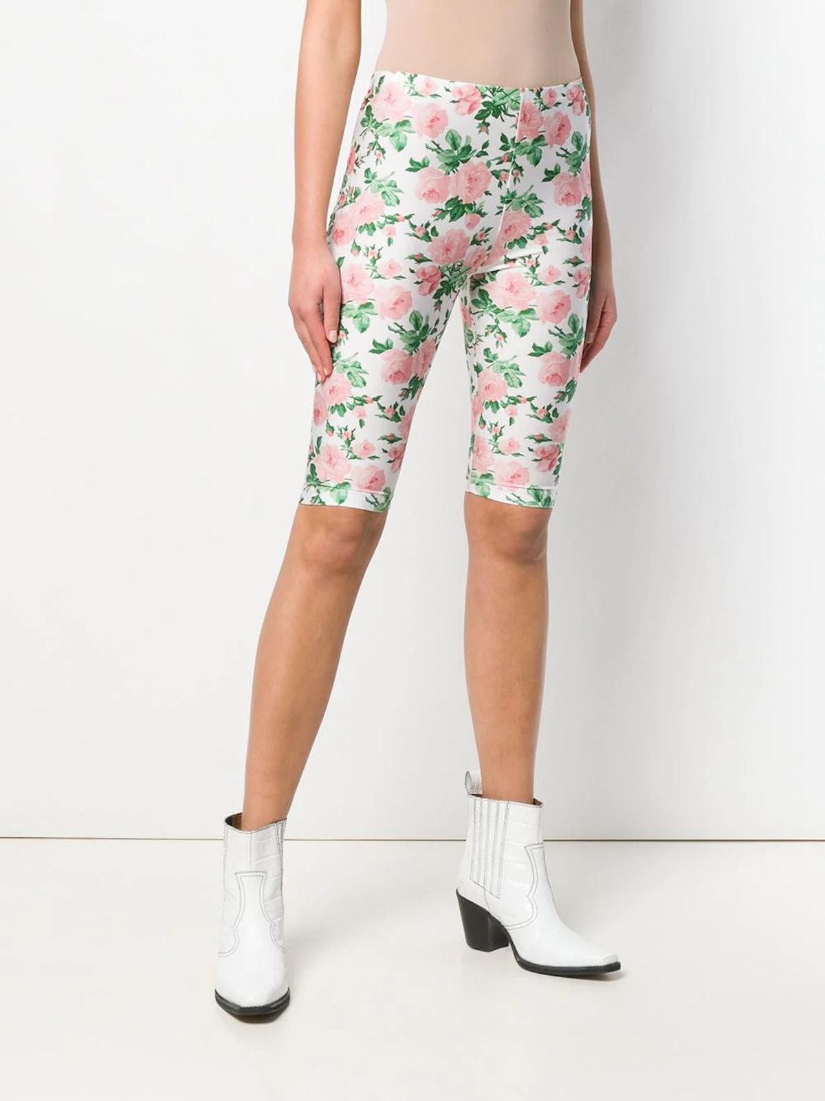 Floral Cycling Shorts