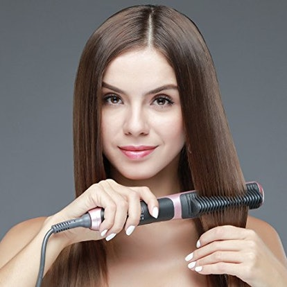 K-SKIN Tourmaline Ceramic Hair Straightener Straightening Brush