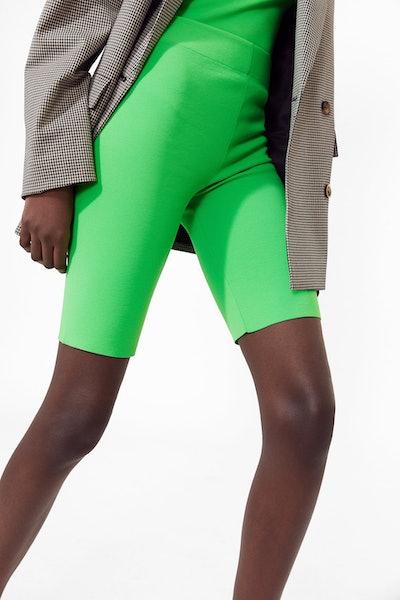 Fluorescent Bike Shorts