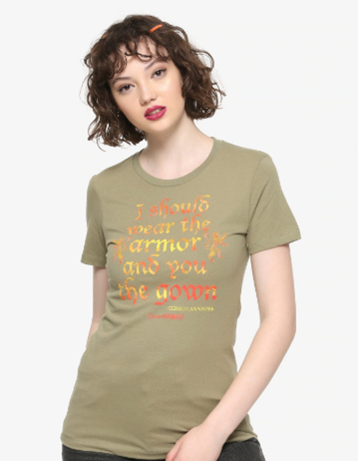 'Game of Thrones' Cersei Armor & Gown T-Shirt