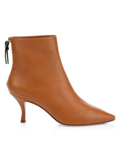 Stuart Weitzman Juniper Leather Booties