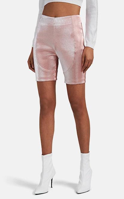 Lamé Bike Shorts