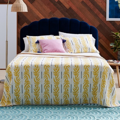 Vintage Palm 3-Piece Quilt Set