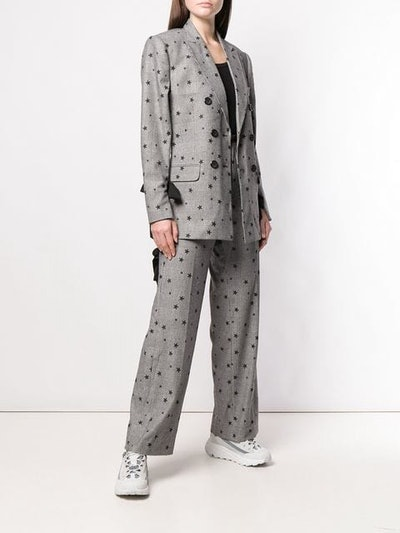 Star Embellished Blazer & Trousers
