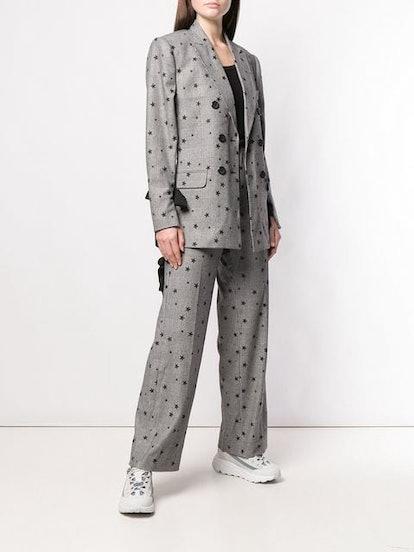 Star Embellished Blazer & Trousers