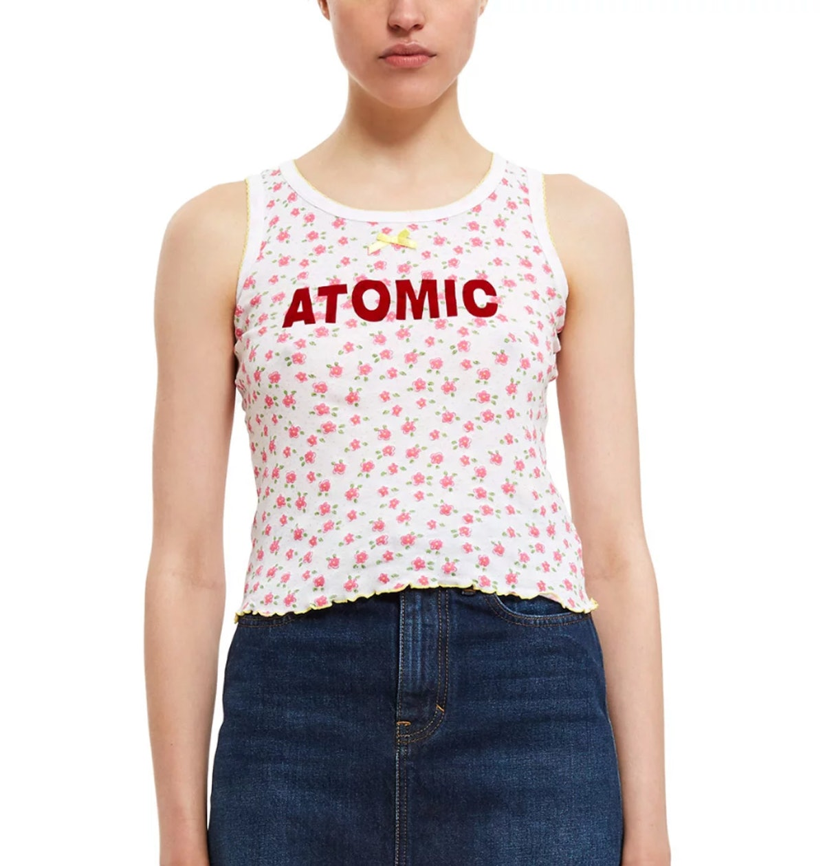 Vanna Youngstein Atomic Floral Tank