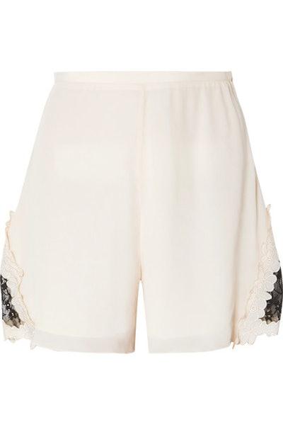 Crep de Chine Shorts