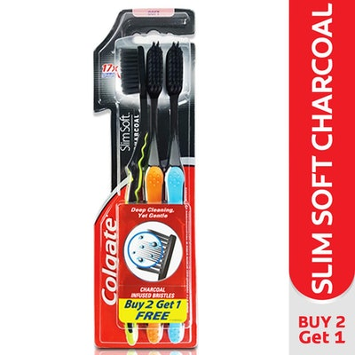 Colgate Charcoal Toothbrush (3 Pack)