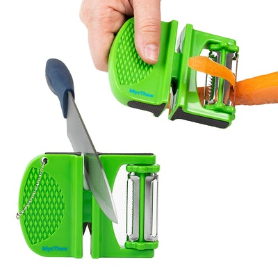 MysThaw Three-In-One Vegetable Peeler