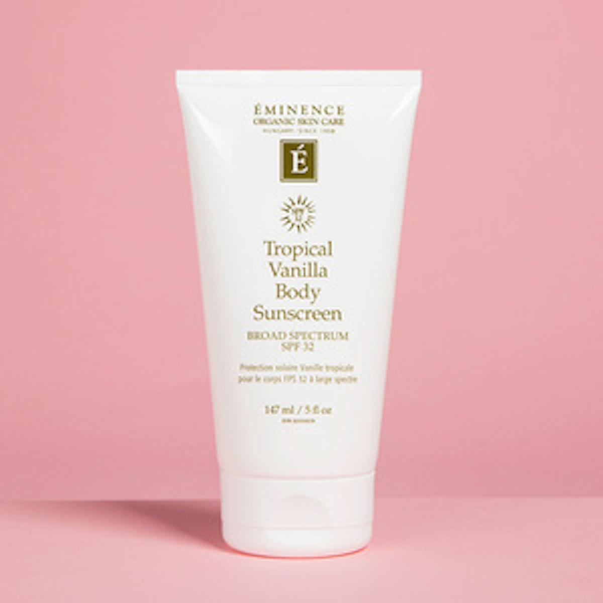 Eminence Organic Skin Care Tropical Vanilla Body Sunscreen SPF 32