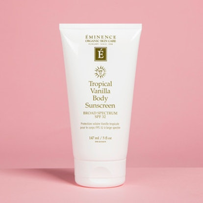 Eminence Organic Skin Care Tropical Vanilla Body Sunscreen SPF 32