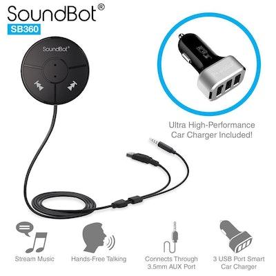 Soundbot Hands-Free Bluetooth Car Kit