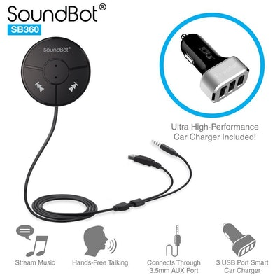 Soundbot Hands-Free Bluetooth Car Kit