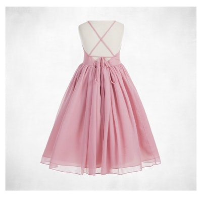 Chiffon Flower Girl Dress