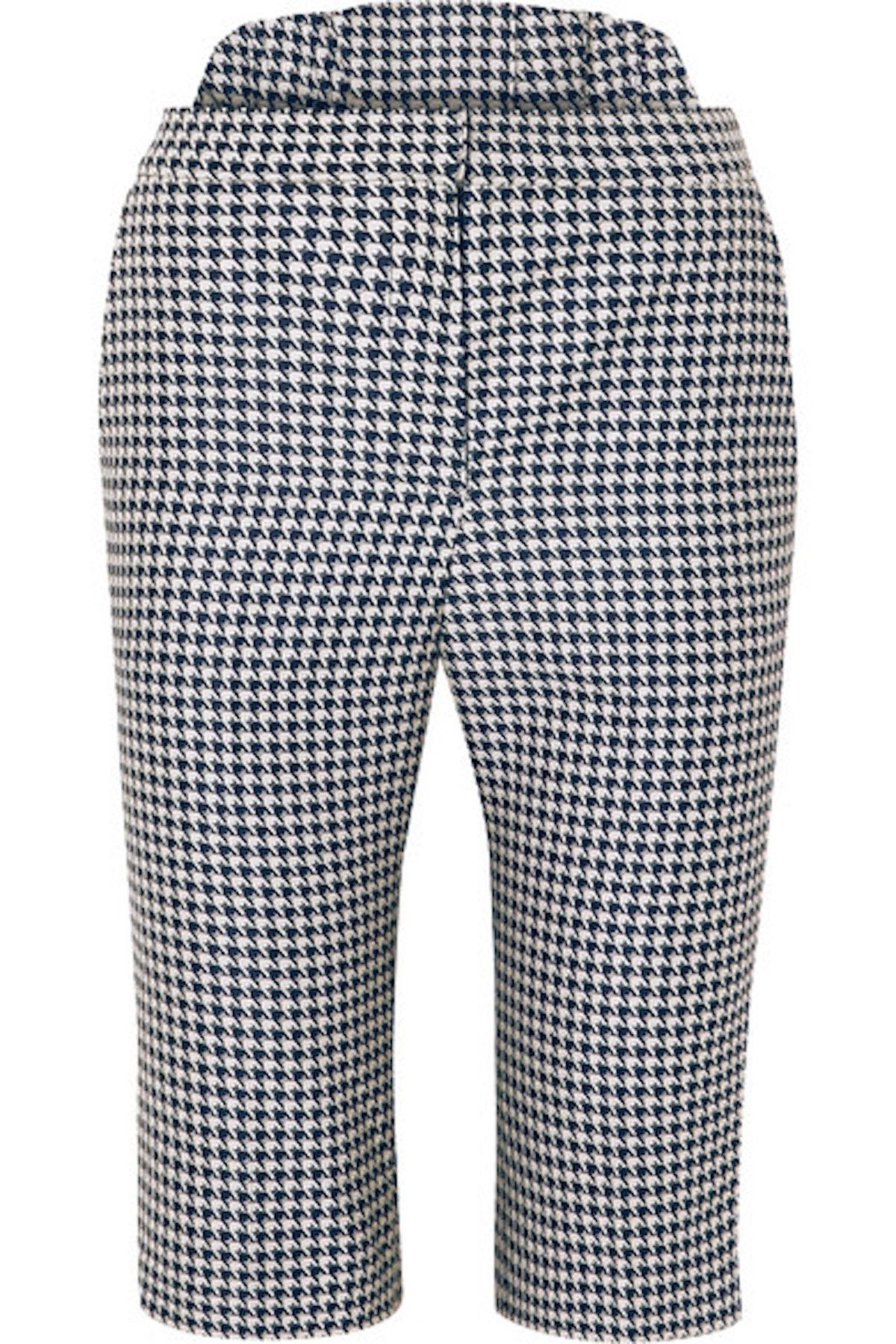 Houndstooth Jacquard Shorts