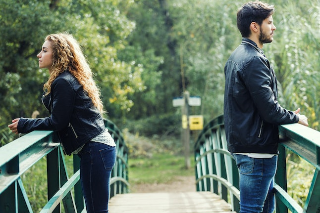 Taking a moment to breathe before reacting to your partner can help to de-escalate the situation.