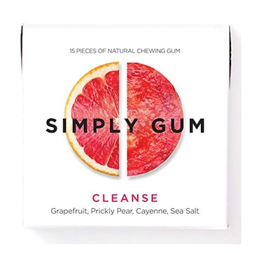 Simply Gum Grapefruit And Pear Vegan Gum (6 Pack)