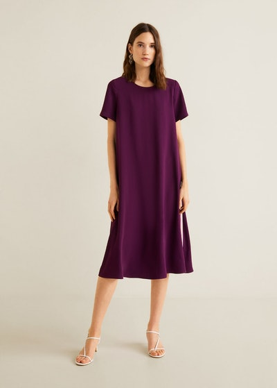 Bicolour Midi Dress