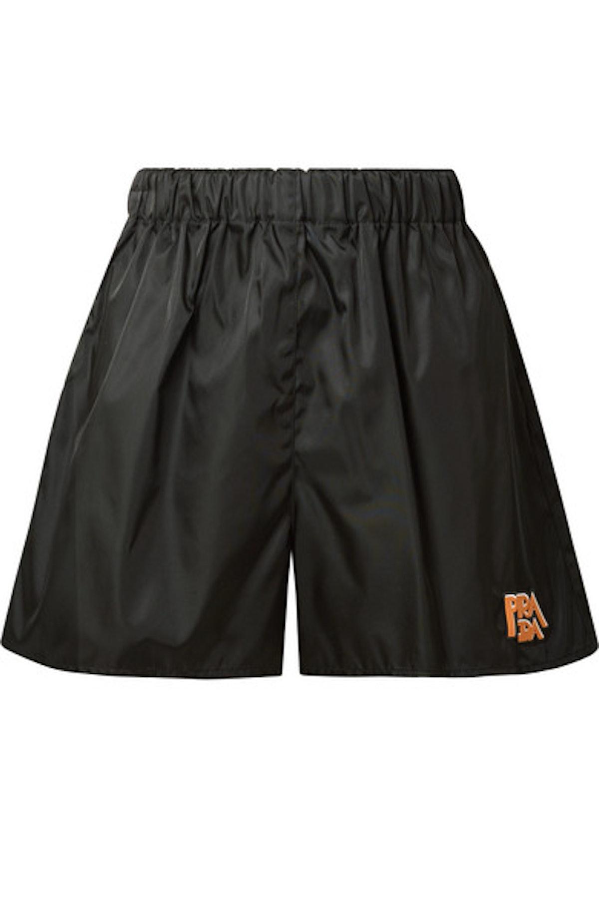 Appliqued Shell Shorts