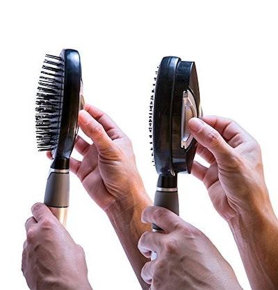 Qwik Clean Self Cleaning Hair Brush