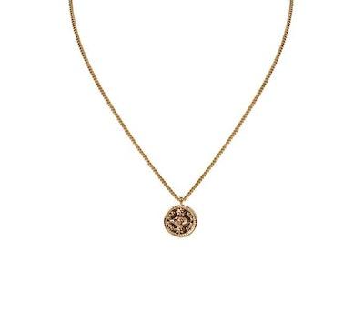 Eye Coin Necklace