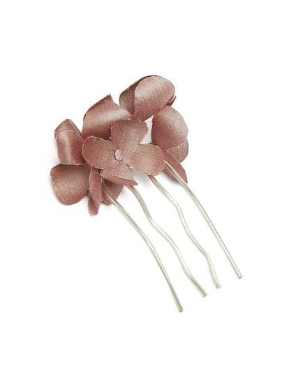 Silk Faux-Flower Hairpin