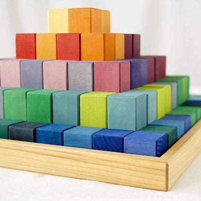 Grimm's Wooden Building Blocks