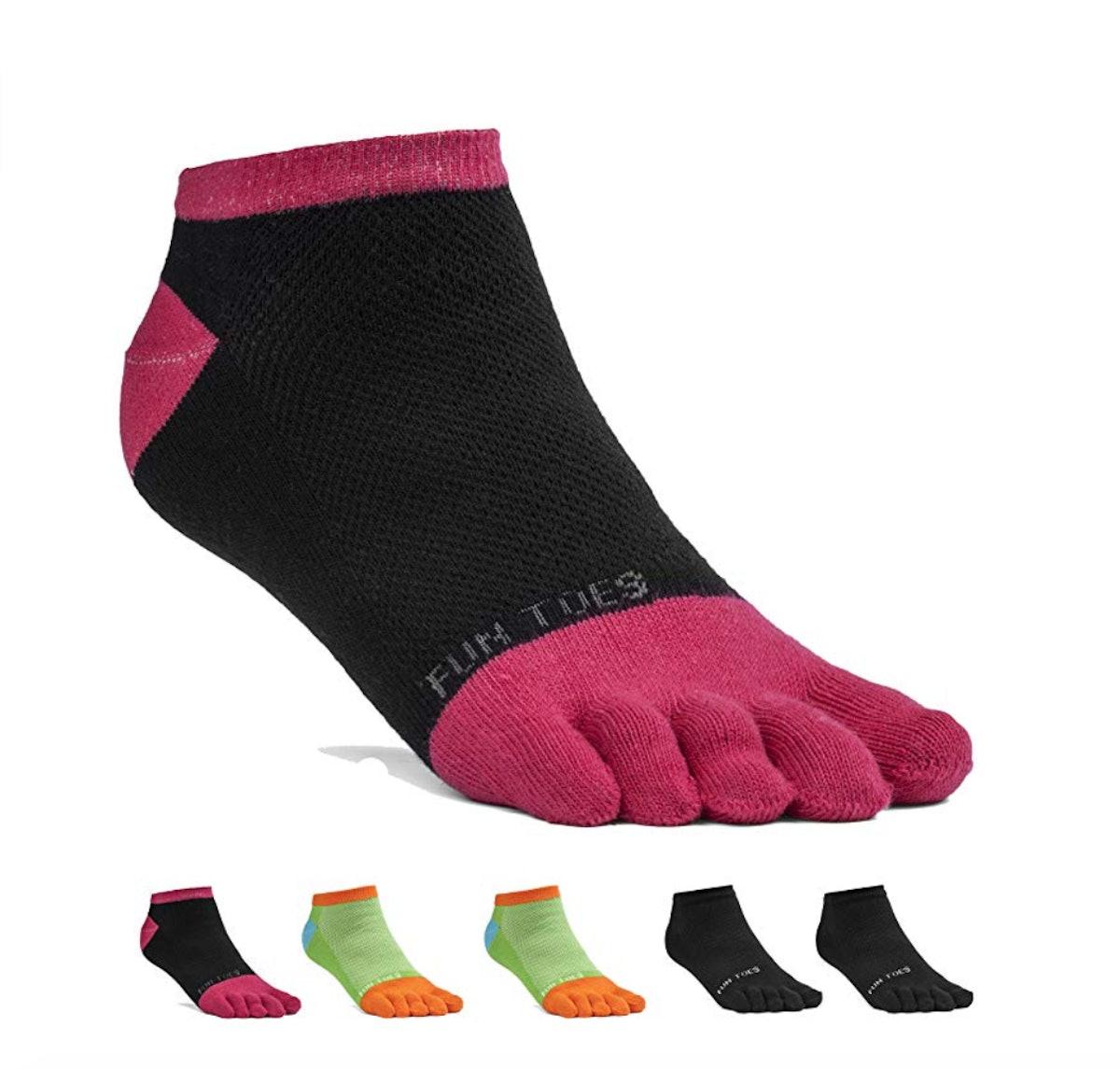 FUN TOES Cotton Toe Socks