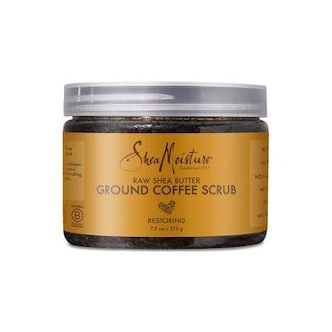 Raw Shea Butter Ground Coffee Scrub