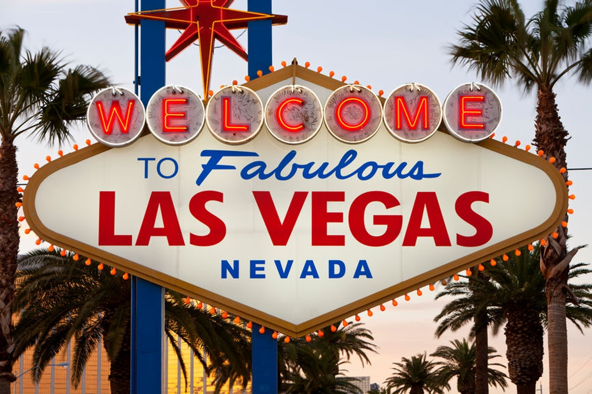 Welcome to Fabulous Las Vegas Nevada sign.