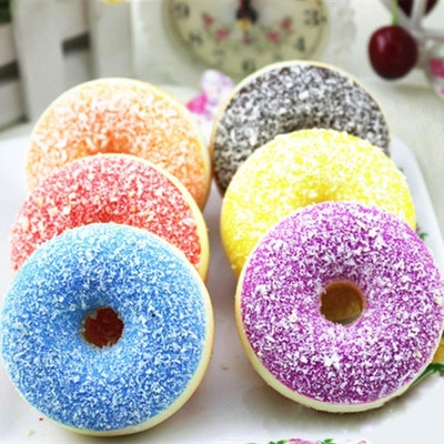 Colourful Scented Doughnut Stress Toys