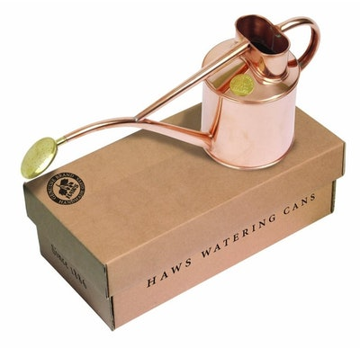 Haws Copper Indoor Watering Can, 1 Liter