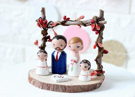 Peg Doll Family Topper