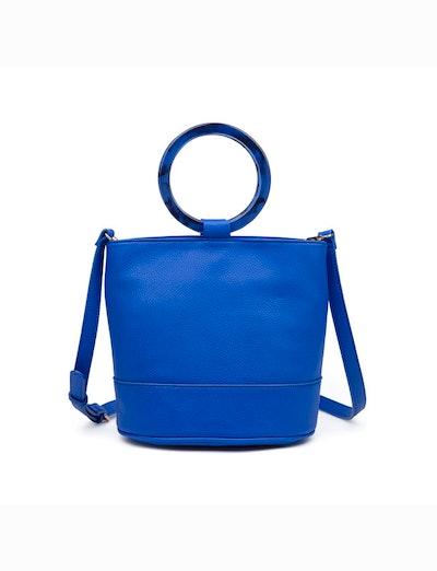Resin Handle Bucket Bag