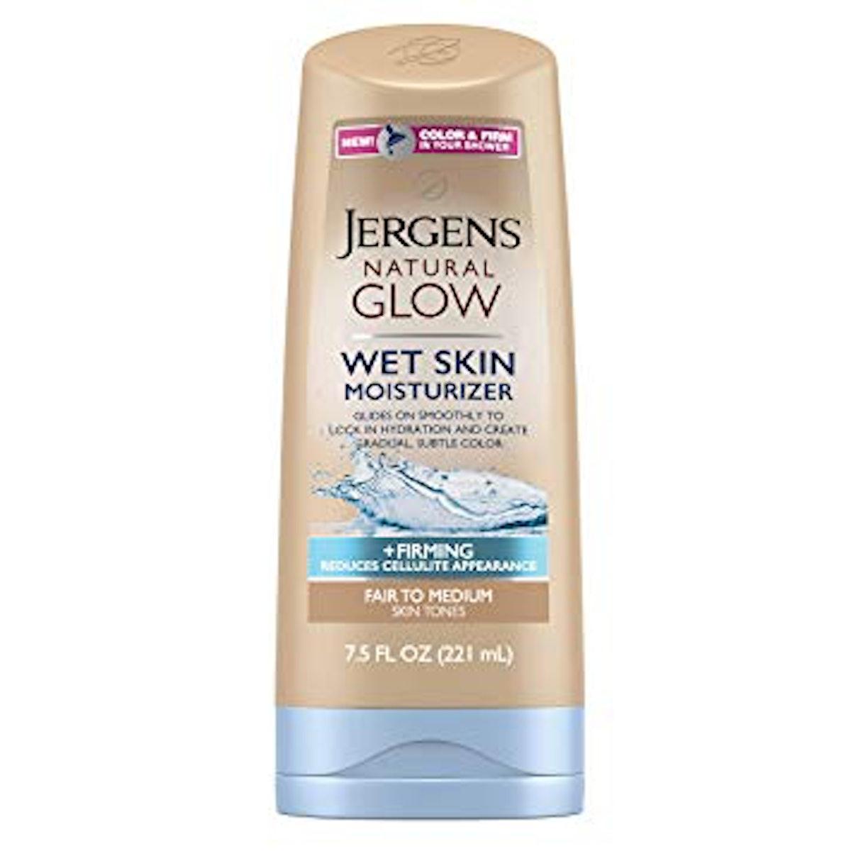 Jergens Natural Glow +Firming Wet Skin Moisturizer