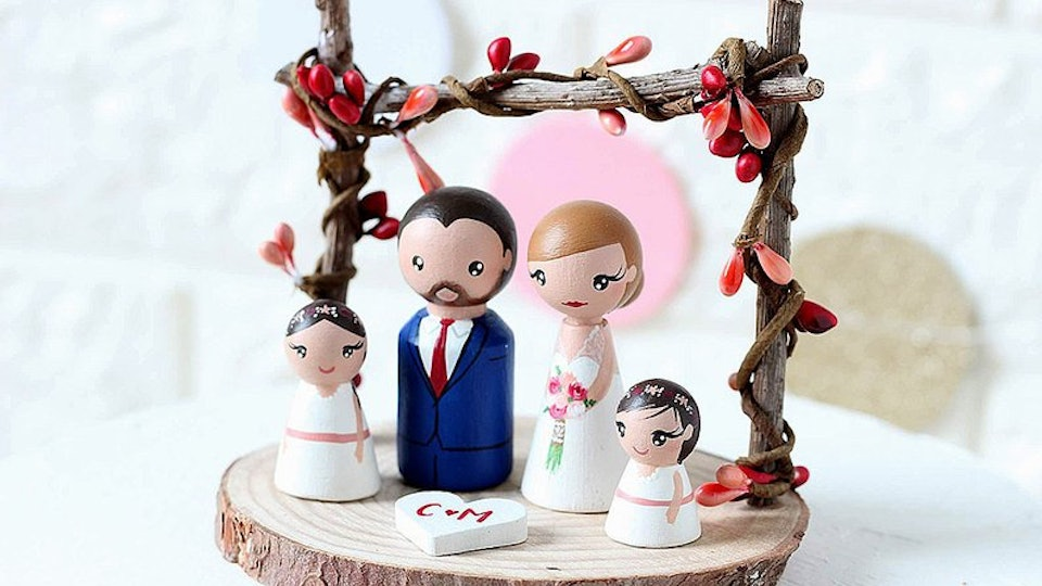 17 Wedding Cake Toppers That Include Your Kid Because It S