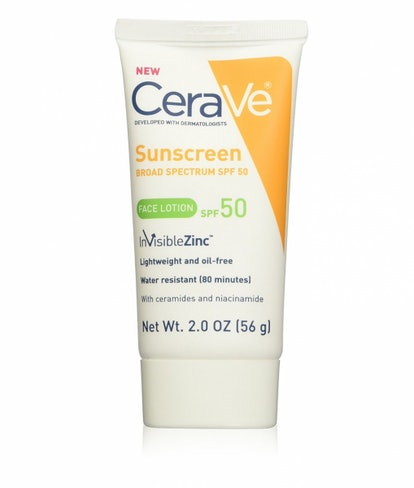 Sunscreen Face Lotion SPF 50 With Zinc Oxide